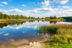 Lake. Estonia Stock Photography