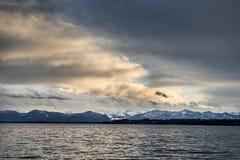 Lake evening mood Stock Photo