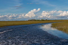Lake in Everglades Safari Park Stock Photo