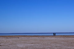 Lake Eyre Central Australia royalty free stock images