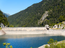 Lake Fabreges in the Atlantic Pyrenees in France Royalty Free Stock Photography