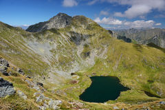 Lake in Fagaras Mountains Stock Images