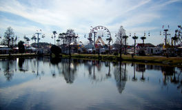 Lake Fair Royalty Free Stock Photography