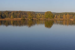 Lake in fall Royalty Free Stock Images