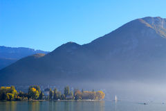 Annecy lake, France Royalty Free Stock Photos