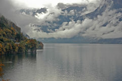 Lake in the Fall Stock Image