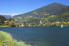 Lake Feldsee,Carinthia,Austria Royalty Free Stock Images