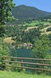 Lake Feldsee,Carinthia,Austria Stock Photography