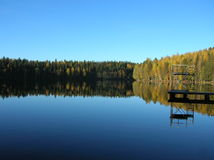 A lake in Finland Stock Photos