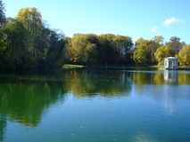 Lake of Fontainebleau Royalty Free Stock Photos