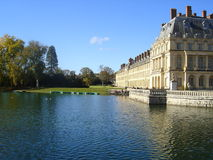Lake of Fontainebleau Stock Image