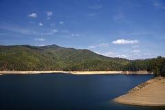 Lake Fontana royalty free stock photos