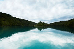 A lake in the forest Royalty Free Stock Photo