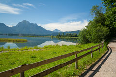 Lake Forggensee Royalty Free Stock Images