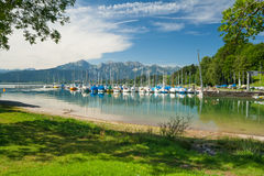 Lake Forggensee Stock Photography