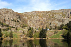 Lake of Forlet, Munster Valley Royalty Free Stock Images