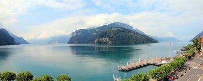 Lake of Four Cantons, Switzerland Stock Image
