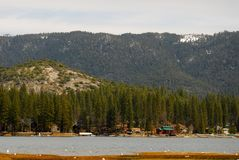 Lake Front Property Royalty Free Stock Image