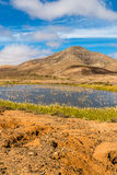 Lake In Fuerteventura Inland-Canary Islands, Spain Royalty Free Stock Photography