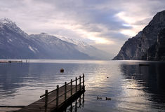 Lake Garda Royalty Free Stock Photo