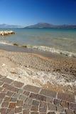 The Lake of Garda 2. A sunny day on The Lake of Garda (Italy Royalty Free Stock Photos