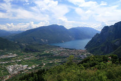Lake of Garda royalty free stock images