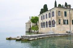 Lake Garda Fotografering för Bildbyråer
