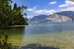 Lake Garda Royaltyfria Bilder