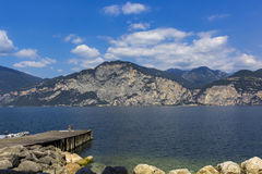 Lake Garda Royaltyfri Bild