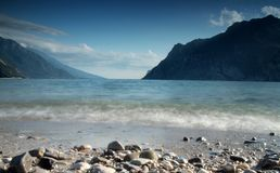 Lake Garda beach Stock Photos