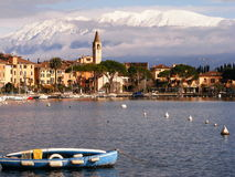 Winter Lake Garda Stock Photos