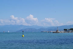 Lake Garda. Garda lake - the biigest lake in Italy Royalty Free Stock Photos