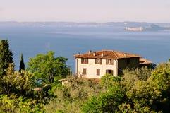Lake Garda house Stock Photography
