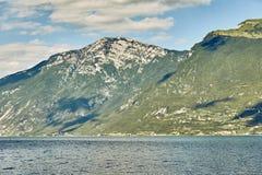 Lake Garda in Italy Stock Image