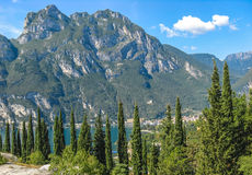 Lake Garda in Italy Royalty Free Stock Photo