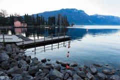 Lake Garda in Italy royalty free stock image