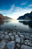 Lake Garda. Lago di Garda - Riva del Garda - Trentino Region Royalty Free Stock Photography