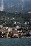 Lake Garda. Lakeside in the beautiful Lake Garda, Italy Royalty Free Stock Image