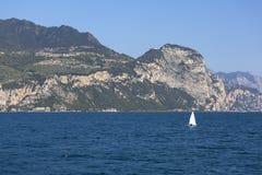 Lake Garda, the largest lake in Italy, situated on the edge of tthe Dolomites, Italy. Lake Garda, the largest lake in Italy, situated on the edge of the royalty free stock images