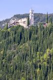 Lake Garda, the largest lake in Italy, situated on the edge of the Dolomites, Italy. Lake Garda, the largest lake in Italy, situated on the edge of the Dolomites royalty free stock photography
