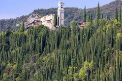 Lake Garda, the largest lake in Italy, situated on the edge of the Dolomites, Italy. Lake Garda, the largest lake in Italy, situated on the edge of the Dolomites stock image