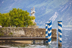 Lake Garda Limone Italy Royalty Free Stock Image