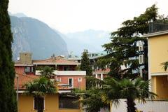 Lake Garda. Looking through the hotels in Lake Garda Royalty Free Stock Image
