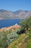 Lake Garda,Malcesine,Italy Royalty Free Stock Photography