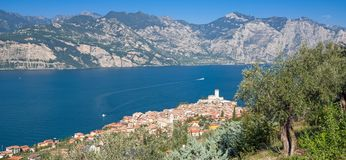Lake Garda,Malcesine,Italy Royalty Free Stock Image