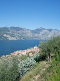 Lake Garda,Malcesine,Italy Stock Images