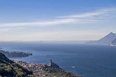 Lake Garda and Malcesine Stock Images