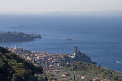 Lake Garda and Malcesine Royalty Free Stock Image