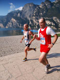 Lake Garda Marathon 2008 Stock Images