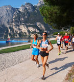 Lake Garda Marathon 2008 Royalty Free Stock Photos